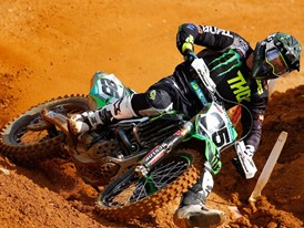 Clement Desalle and Kawasaki have helped develop the Dunlop Geomax range