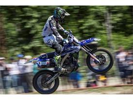 Ben Watson rides to his first MX2 podium