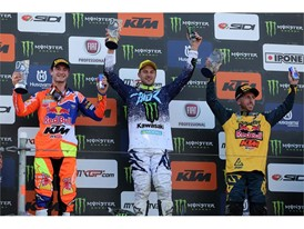 Clement Desalle tops the MXGP of Russia podium