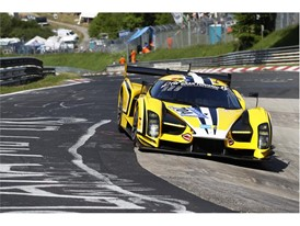 The stunning Glickenhaus SCG 003 set pole position at the 2017 Nurburgring 24h - on Dunlop