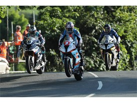 David Johnson, Michael Dunlop and Derek Sheils