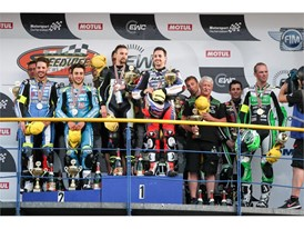 Endurance World Cup Podium - Dunlop 1-2-3