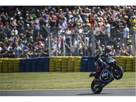 Francesco Bagnaia heads the Moto2 standings