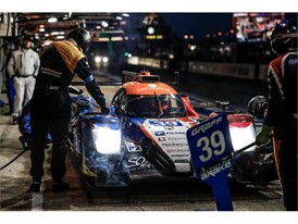 Graff-SO24's Oreca claimed third