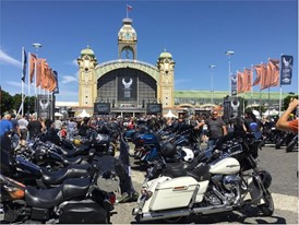 Harley-Davidson Festival in Prague