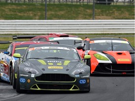 Aston Martin v Ginetta - GT4 forms a strong part of the Britcar grid