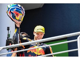 Brad Binder took his first Moto2 win in Germany