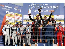 Dunlop caps top the Silverstoen ELMS podium with G-Drive