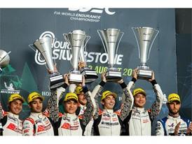 Dunlop 1-2-3 in LMP2 Silverstone 6 Hours