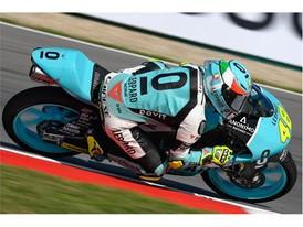 Lorenzo Della Porta established a new Moto3 lap record in Austria