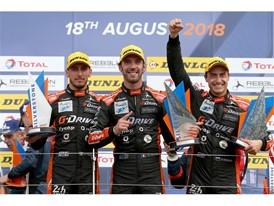 G-Drive tops Silverstone podium