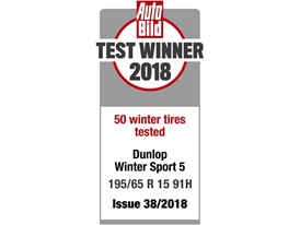 Auto Bild Dunlop_Test winner