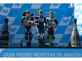 Jorge Martin and Marco Bezzecchi have battled for the Moto3 crown all year
