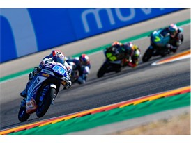 Jorge Martin leads the pack, and the Moto3 championship