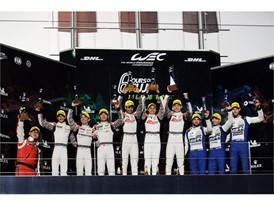 17th consecutive all-Dunlop LMP2 WEC podium at Fuji