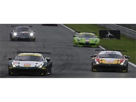 LMGTE field headed by Spirit of Race and JMW Motorsport Ferraris
