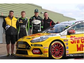 L>R Michael Butler, Ant Whorton-Eales, Nathan Harrison, Oly Collins.