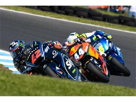 Francesco Bagnaia leads the FIM Moto2 World Championship