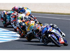 Jorge Martin leads the pack and the Moto3 championship