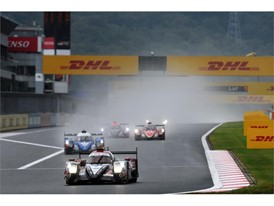 Dunlop runners battling at the front at the last round in Japan
