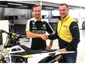Antti Pyrhönen, Rockstar Energy Husqvarna Factory Racing MXGP team manager with Wim Van Achter,Motorsport Manager,Dunlop