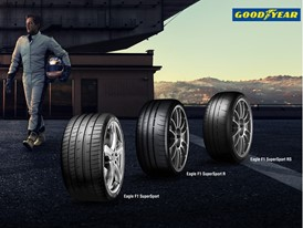 Goodyear Eagle F1 SuperSport range overview