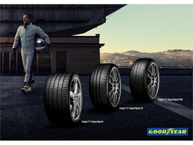 Goodyear pushes the limit with new race-inspired Eagle F1 SuperSport range for road and track