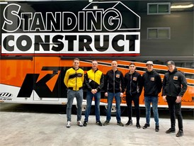 Standing Construct KTM and Dunlop announce a new technical partnership