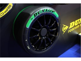 New BTCC tyre colour coding from Dunlop - Green for the Sport Maxx Option Soft