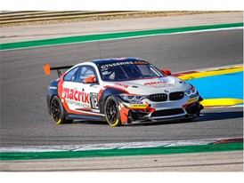 GT4 testing was a priority for Dunlop - BMW M4 GT4 in action