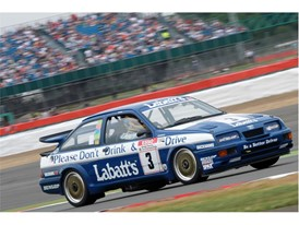 The Ford Sierra RS500 Cosworth - an 80s legend of the Dunlop BTCC