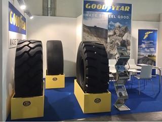 Goodyear a Ecomondo con le gamme OTR e Truck  nell'area dedicata alle tecnologie e ai macchinari per il riciclaggio