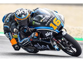 Moto3 racer Andrea Migno leads Dunlop's Forever Forward table