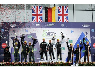 Historic triple win and all-Dunlop GT podium in World Endurance Championship