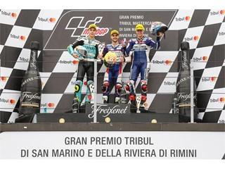 Moto3 Misano podium