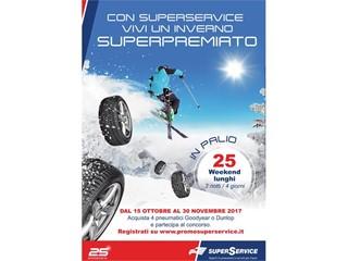 Con SuperService il cambio gomme invernale premia gli automobilisti