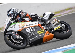 Sam Lowes topped the Moto2 times in Jerez test
