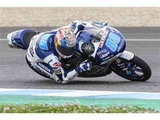 Jorge Martin nine-time pole-sitter in 2017 fastest Moto3 in testing