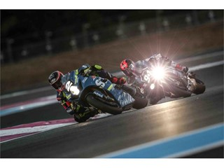 Suzuki Endurance Racing Team SERT ahead of GMT94 in the Bol D'Or night