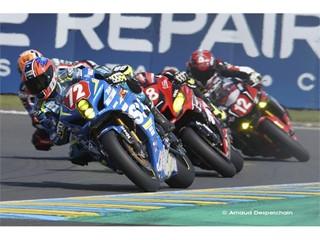 Junior Team LMS Suzuki - 3rd in Superstock at 24 Heures Motos - Le Mans