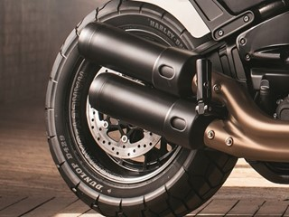 Dunlop Introduces D429 – A purpose designed new Harley-Davidson tyre.