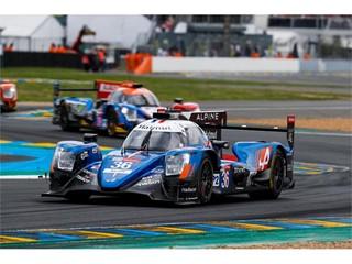 Signatech Alpine Matmut Claims LMP2 Victory on Dunlop