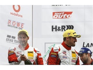 Standing tall on the podium - Dunlop Winners