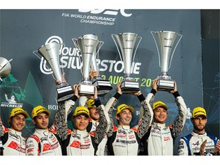 Dunlop LMP2 clean sweep in WEC 6 Hours of Silverstone