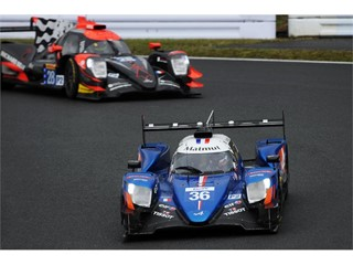 Signatech Alpine Matmut ahead of TDS Racing Oreca