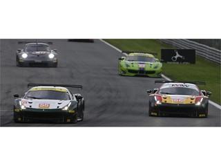 LMGTE field headed by Spirit of Race and JMW Motorsport Ferraris