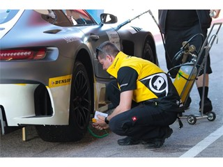 Three days of intensive tyre testing and evaluation at Portimao