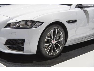 New Goodyear Eagle F1 Asymmetric 3 makes appearance on Jaguar XF - Four homologations for Goodyear's new UHP tire