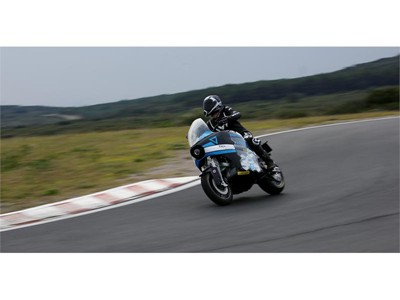 Dunlop RoadSmart III chosen by STORM Eindhoven for 'Around the World Adventure' on radical Electric Motorcycle