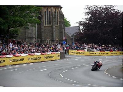 Dunlop does the double with Superbike and Senior TT victory